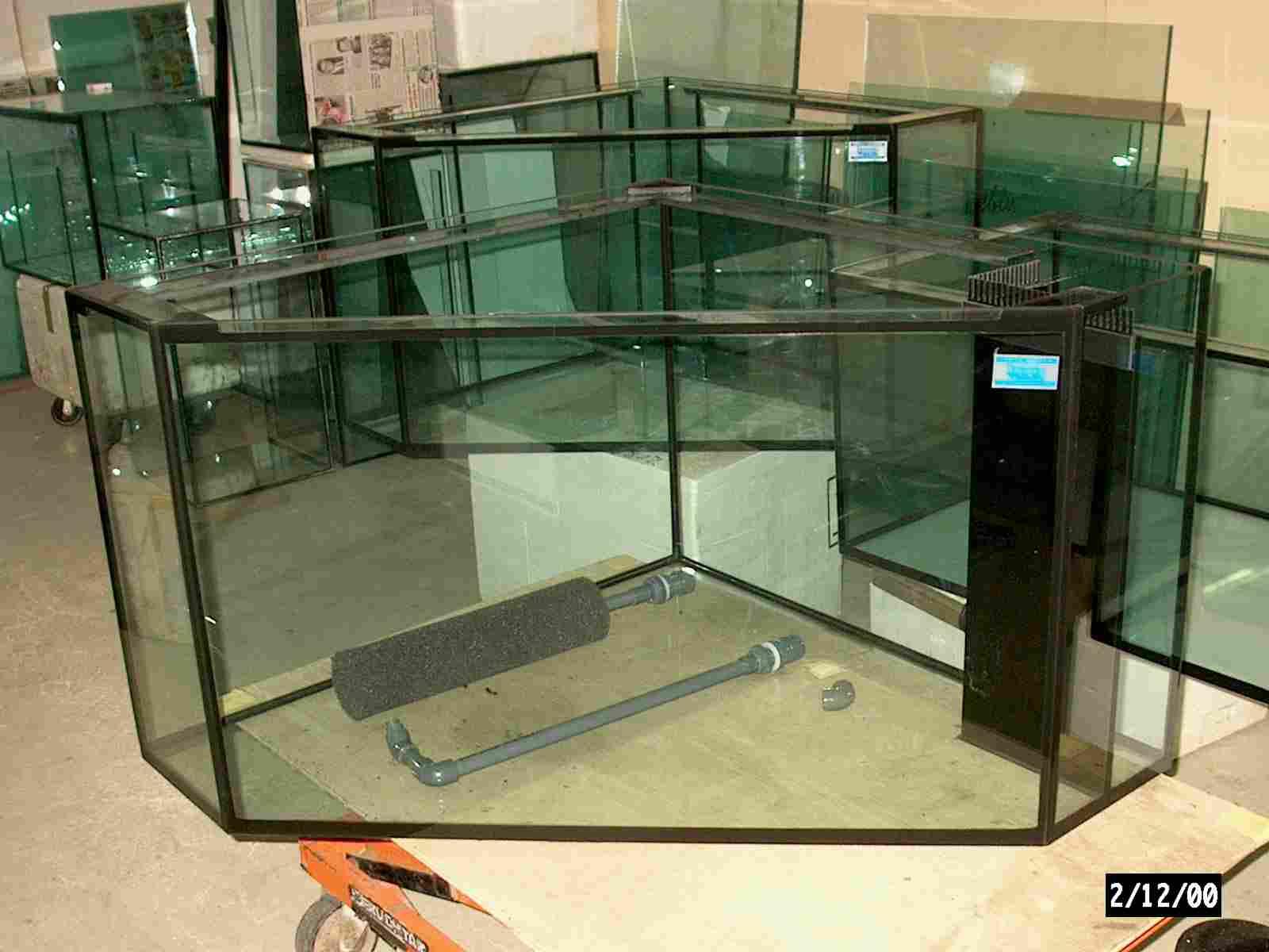 aa eck aquarium nano aquarium 20 l aquarium garnelen aquarium bunte. Black Bedroom Furniture Sets. Home Design Ideas